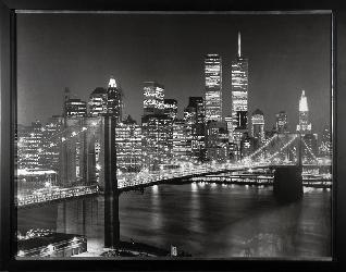 Cuadro - Brooklyn Bridge Enmarcado de cuadros
