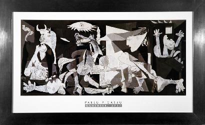 Cuadro Guernica Picasso Enmarcado de laminas