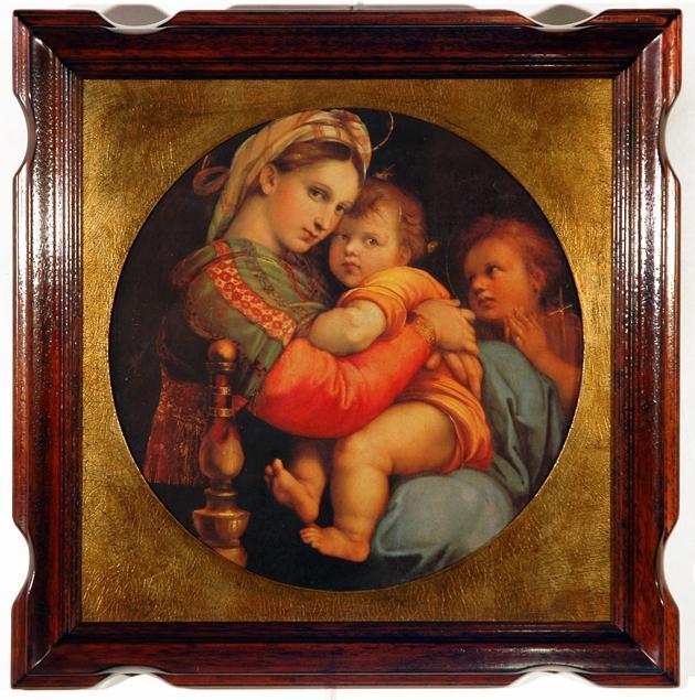 Cuadro - Madonna della seggiola