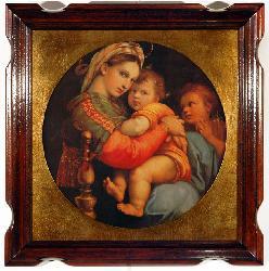Cuadro - Madonna della seggiola Enmarcado de cuadros