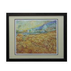 Cuadro  El segador Van Gogh Marcos y Cuadros