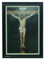Enmarcado de lamina de Cristo Enmarcado de laminas