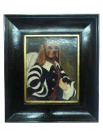 Enmarcado de oleo Perro Enmarcado de cuadros