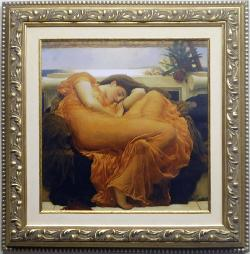 Flaming June Enmarcado de cuadros
