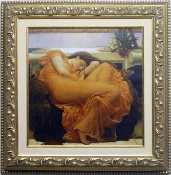 Flaming June Enmarcado de laminas