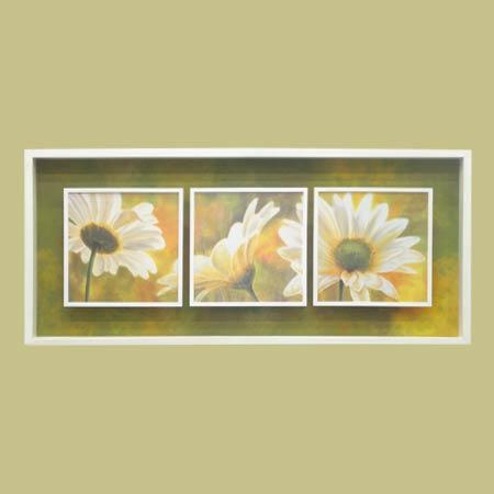 Cuadro - Marguerites dans le soleil I, II y III