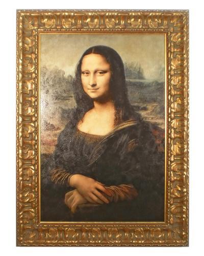 Enmarcado de cuadros cuadros cuadro la gioconda - Enmarcado de cuadros ...