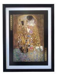 Cuadro - El beso (discontinuado) Enmarcado de cuadros