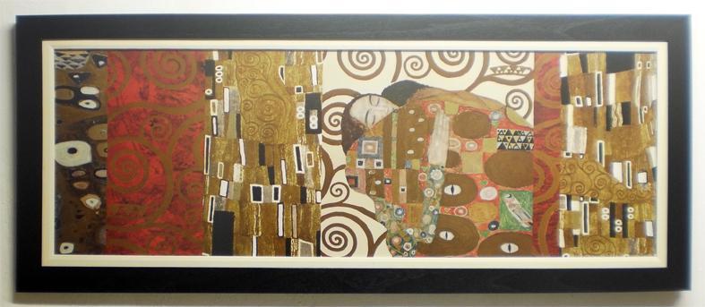 Enmarcado de laminas cuadros cuadro con lamina de klimt for Enmarcado de cuadros precios
