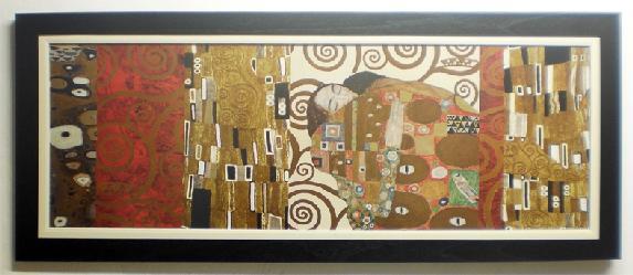 Cuadro con lamina de Klimt Marcos y Cuadros