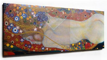 Gustav Klimt Sea Serpent Enmarcado de cuadros