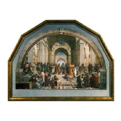 Cuadro  La escuela de Atenas Enmarcado de cuadros