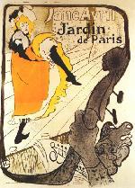 Henri Marie Raymond de Toulouse-Lautrec ( 1864 - 1901) Enmarcado de laminas