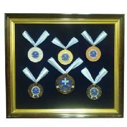 Enmarcado de Medallas Tiro Federal Enmarcado de cuadros