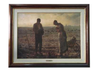 Enmarcado de cuadros cuadros clasicos cuadro el angelus for Enmarcado de cuadros precios