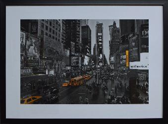 CUADRO NEW YORK BYN DETALLE COLOR Enmarcado de cuadros