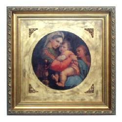 Enmarcado de lamina de Rafael Marcos y Cuadros