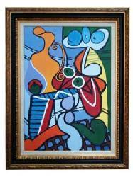 Enmarcado de Replica Picasso Enmarcado de laminas