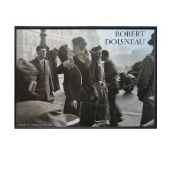 Enmarcado de lamina de Robert Doisneau - El Beso Enmarcado de laminas
