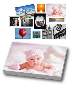 Tu Foto en Canvas Enmarcado de laminas