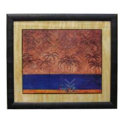 Enmarcado con marco texturado Enmarcado de laminas