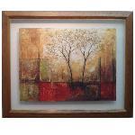 Enmarcado de l�mina arbol abstracto Enmarcado de cuadros