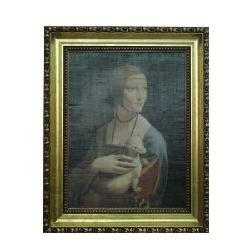 Enmarcado de laminas Lady with an Ermine Enmarcado de laminas