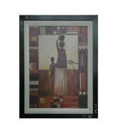 Enmarcado de lamina etnica Enmarcado de laminas
