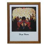 Enmarcado de lamina El vendedor de flores Enmarcado de cuadros