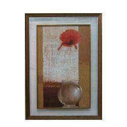Enmarcado de jarron con flor Enmarcado de laminas