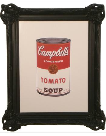 Cuadro - Colored Campbells Soup