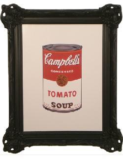 Cuadro - Colored Campbells Soup Marcos y Cuadros