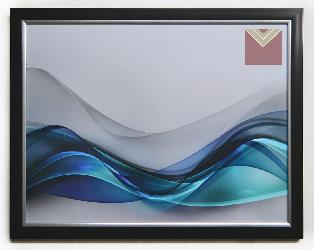 Cuadro lámina abstracta Enmarcado de laminas