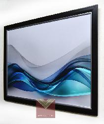 Enmarcado de lamina oleo abstracto Enmarcado de laminas