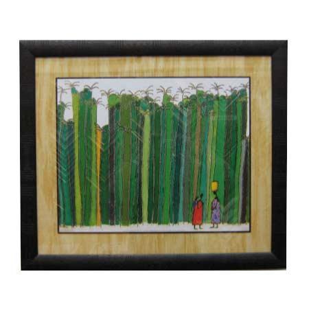 Enmarcado de cuadros cuadros etnicos cuadro palm trees for Enmarcado de cuadros precios