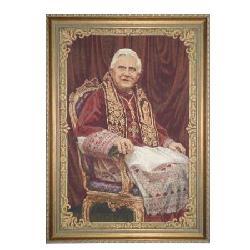 Enmarcado Tapiz Benedicto XVI Marcos y Cuadros