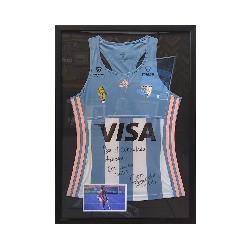 Enmarcado camiseta manga larga de Argentina Enmarcado de cuadros