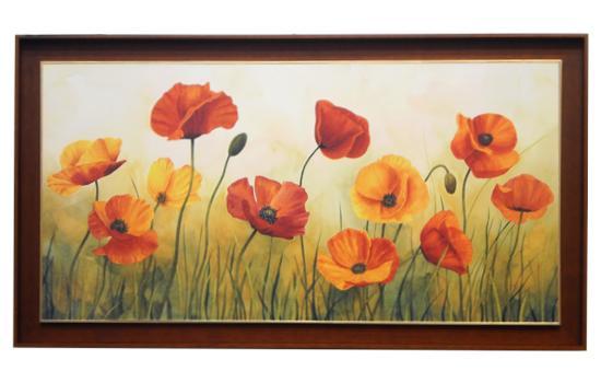 Marcos y cuadros cuadros cuadro campo de tulipanes - Marcos cuadros baratos ...