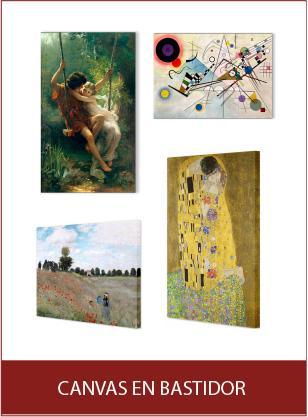 Canvas Enmarcado de laminas