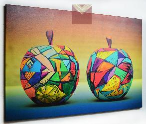 Cuadro Manzanas decorativas Enmarcado de laminas