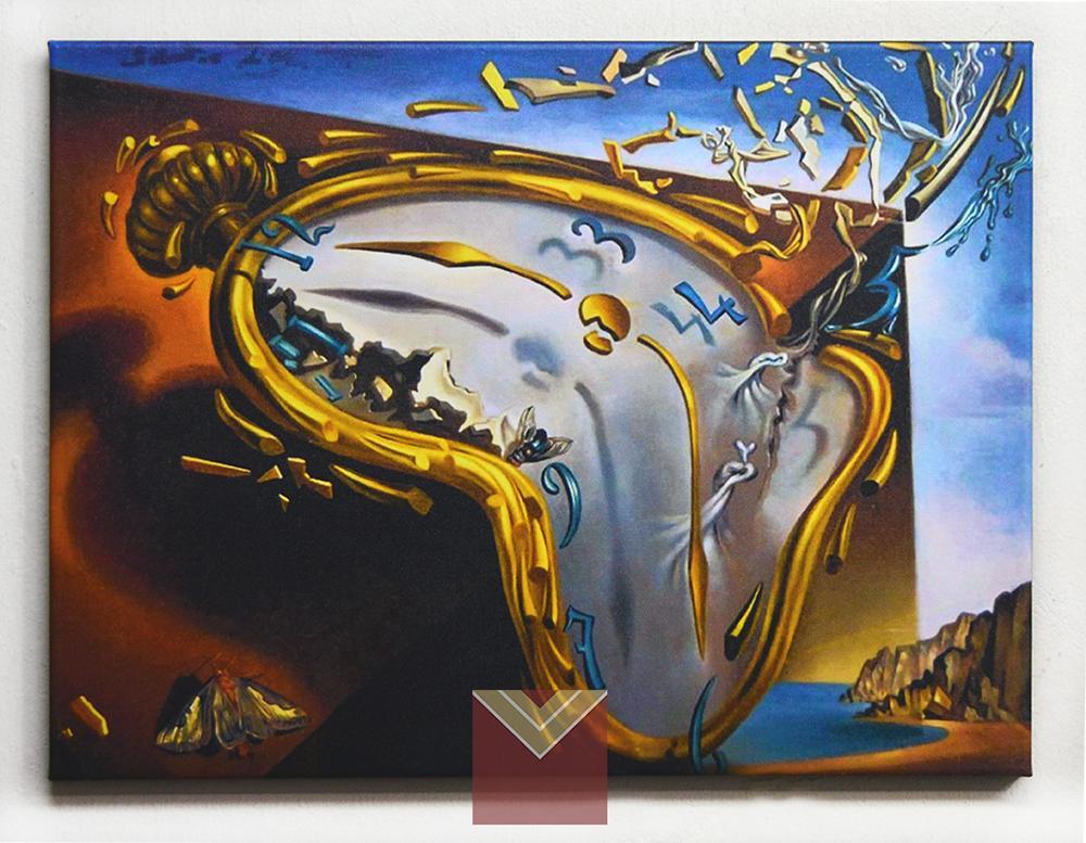 Canvas en bastidor Reloj Blando Dali
