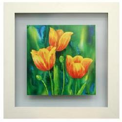 Cuadros:  Composizzione di tulipani Enmarcado de laminas