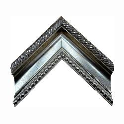BATEA 9 CON PERLAS PLATA Enmarcado de laminas