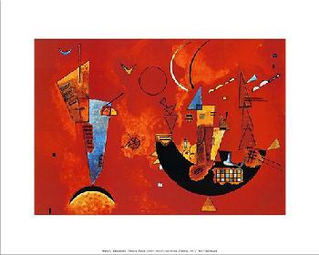 Vasili Kandinski Enmarcado de laminas