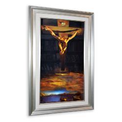 cuadro  Cristo de San Juan de la Cruz, Dali Marcos y Cuadros