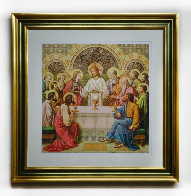 Cuadro Cena, Cristo