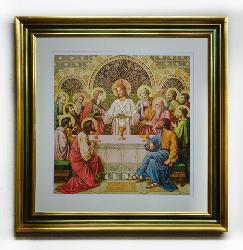Cuadro Cena, Cristo Marcos y Cuadros