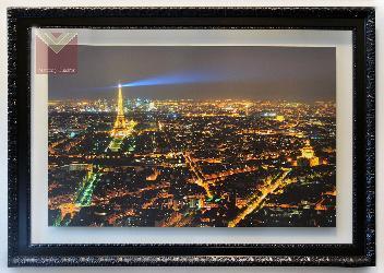 Cuadro Paris de noche Enmarcado de cuadros