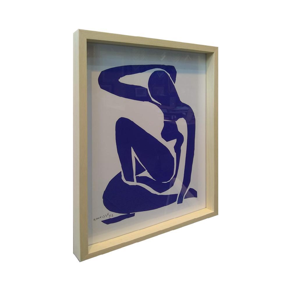 cuadro el desnudo azul