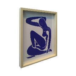 cuadro el desnudo azul Enmarcado de laminas